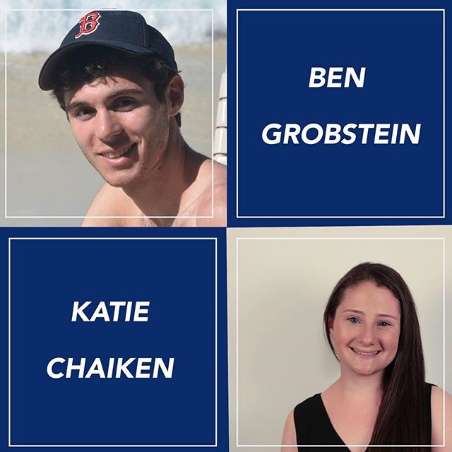 Congratulations to our mentors of the week, @katiechaiken & Ben Grobstein! Check out our Facebook to learn more about them!