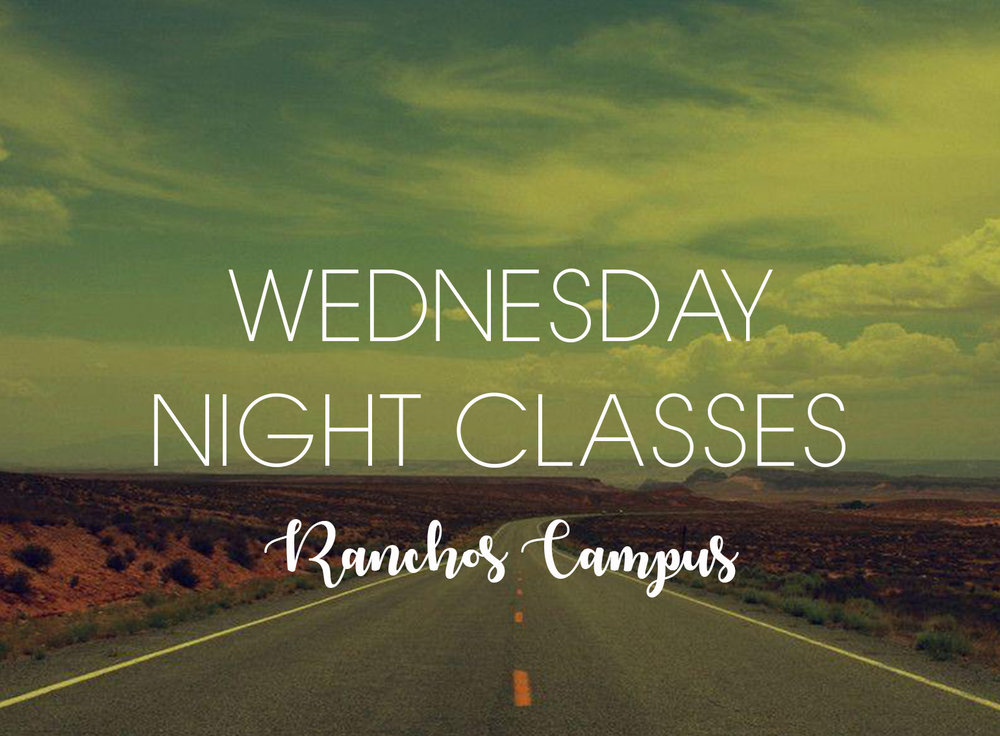 WEDNESDAY NIGHTS 6:30PM Ranchos - -Adult Bible Study (meets in the office conference room)-Royal Rangers (Boys ages 5-12)-Girl's Club (Girls ages 5-12)-Toddlers (Boys & Girls ages 3-4)-Rocksteady Youth (Jr / Sr High)-Married Couples (meets in the sanctuary)Hope to see you all there!