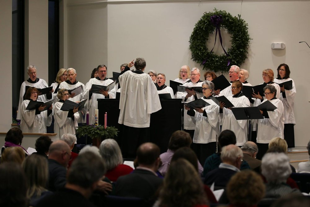 Choir-led Traditional Service