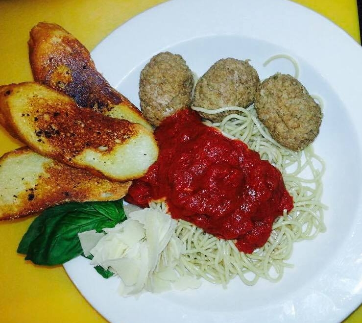 THURSDAY - (6pm - Close)All you can eat Pasta & Bread $8.95Add Meatballs $2.00Wines $3.00