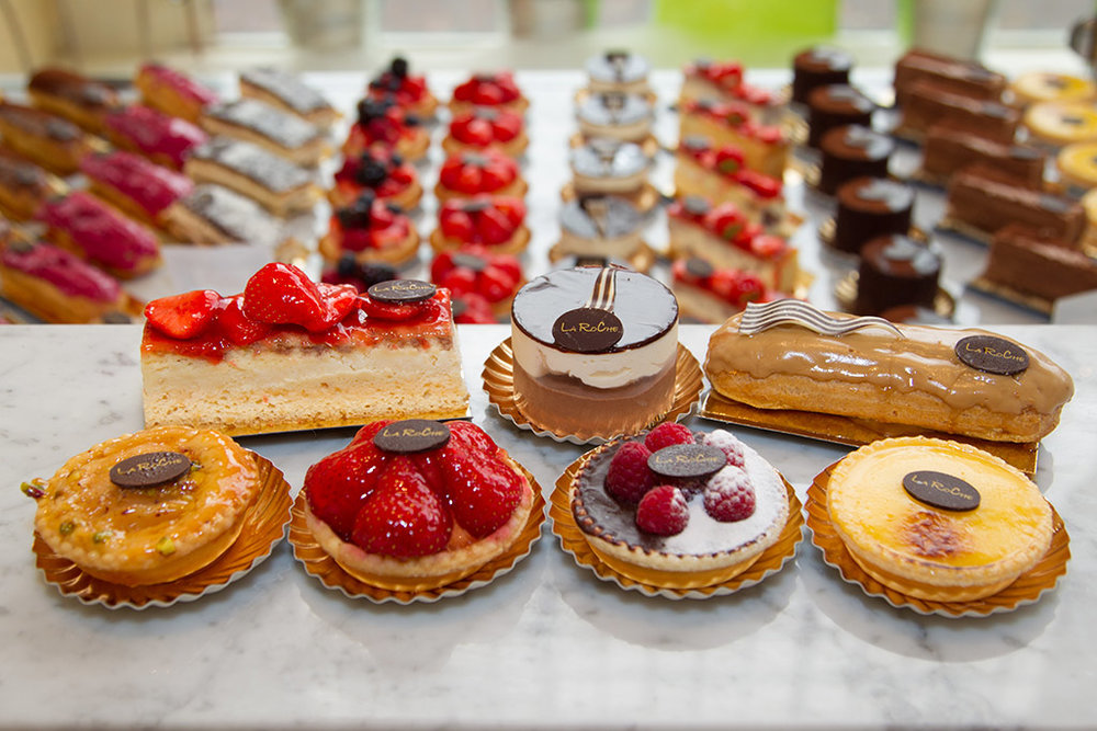 The dessert counter at Pix Patisserie will melt your heart. And maybe, just maybe, you'll be the lucky one to find the golden earrings! Image Courtesy: emaze.com