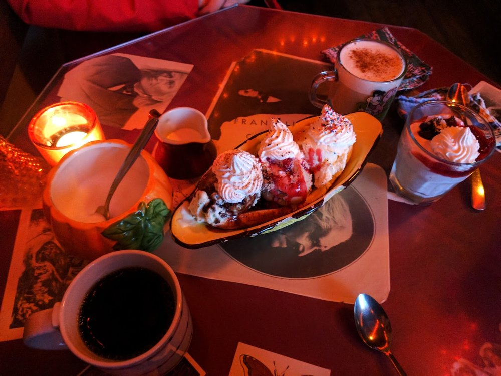 Known for its excellent coffee and desserts, these alone are worth the visit. Image Courtesy: Lauren Smith
