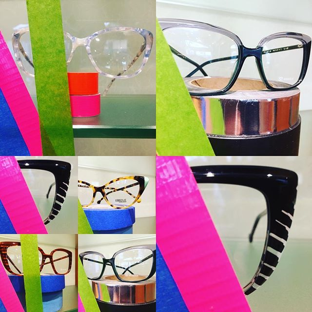 We're super jazzed about these totally radical @esseduesunglasses. The ophthalmic frames are accented with cool asymmetrical color blocking!!! #tottallytubulartuesdays #essedue #shoplocal #symmetryisoverrated #portland #fashionvictim #paintyourworld #fusioneyewear #color #instagood