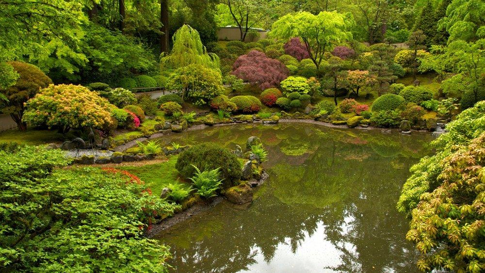 Portland's Japanese Garden. Image Courtesy: Bruce Forster