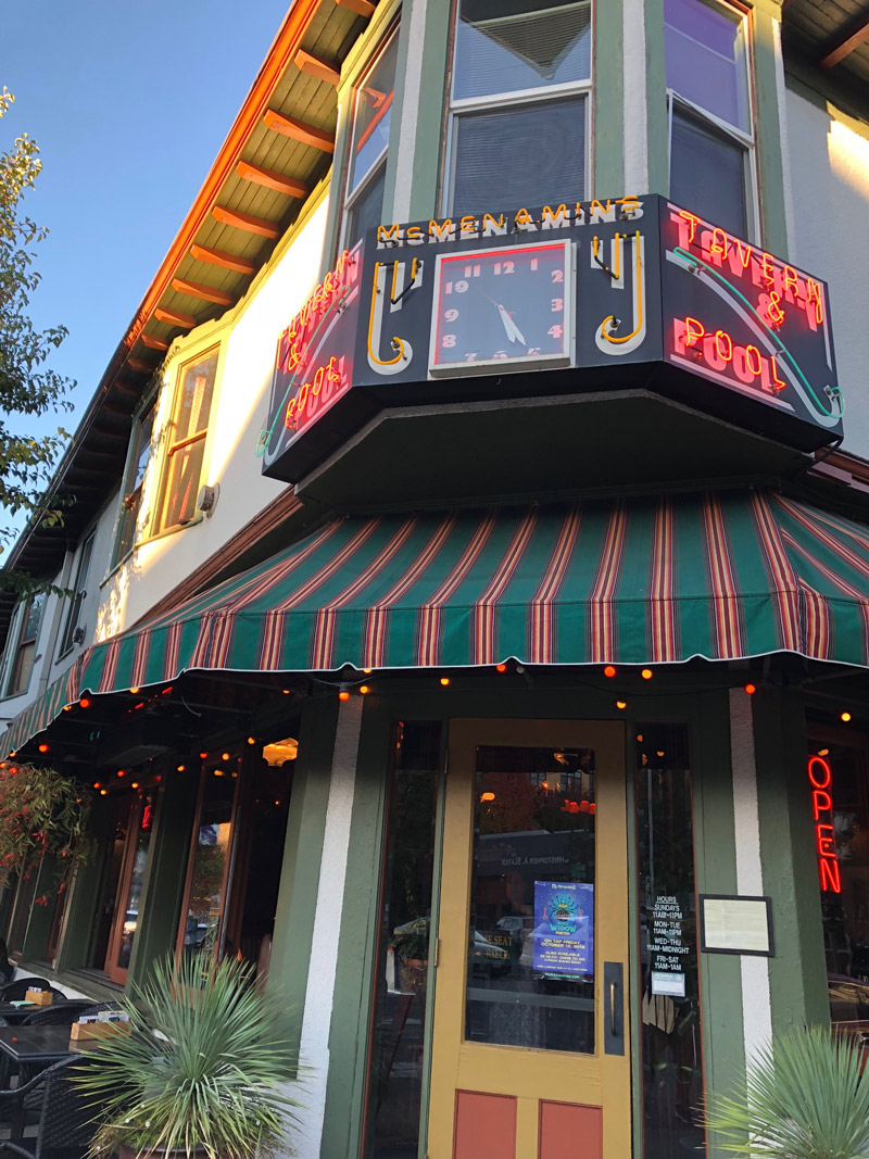 Was it McMenamin's, or was it food heaven? I just don't recall. Image Courtesy: Dan Meyers