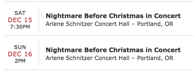These two showings will sell out fast so be sure to get yours! Enjoy. Image Courtesy: arleneschnitzerhall.ticketoffices.com