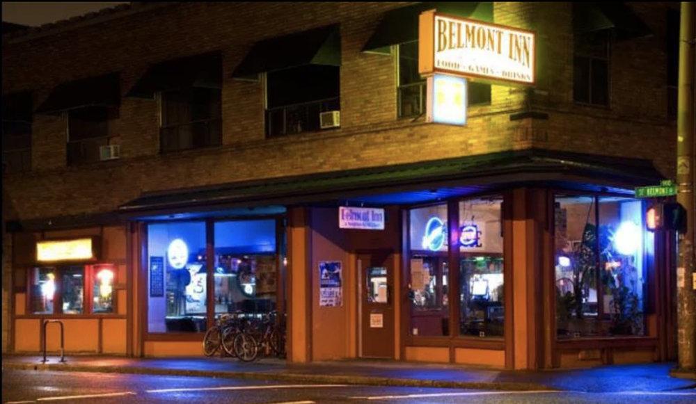 The Belmont Inn today. A great, neighborhood hangout. Image Courtesy: Belmontsinn.com