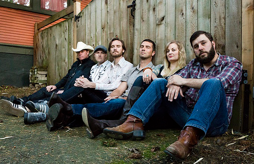 Stars of Cascadia knows how to entertain. Come to the record release on Jan 26 at the White Eagle to see why this alt-country powerhouse gets continually compared to Gram Parsons, Neil Young and the like. Image Courtesy: Stars of Cascadia