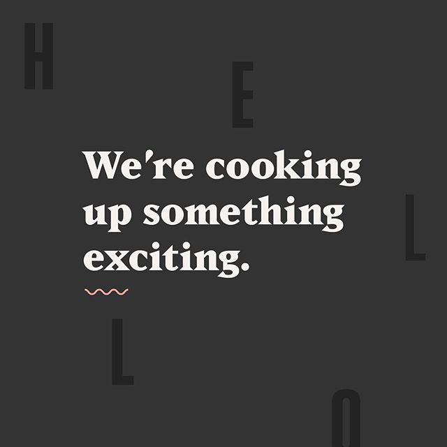 Hey friends! @emilypearlcreative and I are working on something very exciting. We'll be launching it sometime this fall, so stay tuned. In the mean time, wish us luck and send good vibes 🌞 #design #graphicdesign #typography #thedesigntip #comingsoon #hello #branding