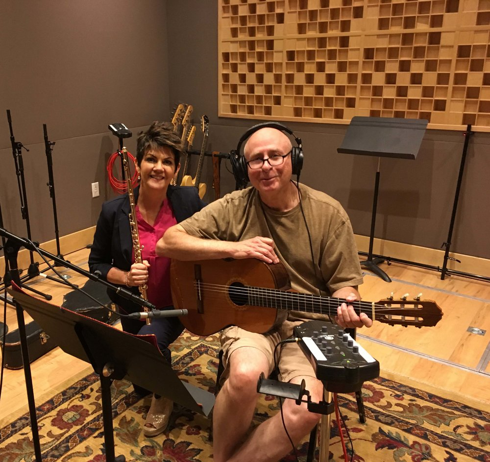 Jeannine Goeckeritz – Come Dream With Me Album – Recording Session – HUGEsound Post Production - Rich Dixon - Guitar.jpg