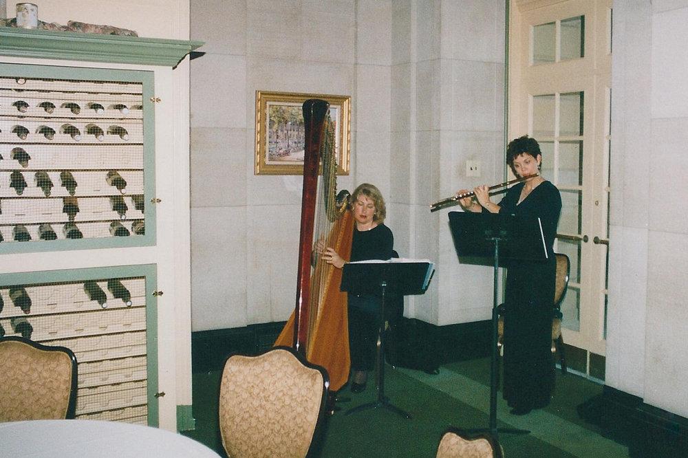 Jeannine Goeckeritz - Tamara Oswald - Saratoga Music Festival, Albany, NY - Backstage.jpg
