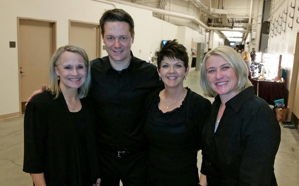 Christmas Concert Backstage - Jeannine Goeckeritz - Matt Vogel - Tiffany Sedgley - Lisa Whatcott.jpg