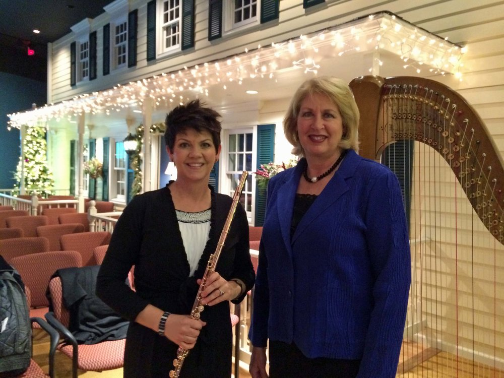 Jeannine Goeckeritz - Tamara Oswald - Washtington DC Visitors Center Concert.jpg