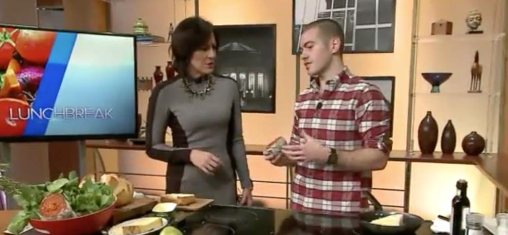 WGN news Lunchbreak: How to make an 'Nduja grilled Cheese sandwich