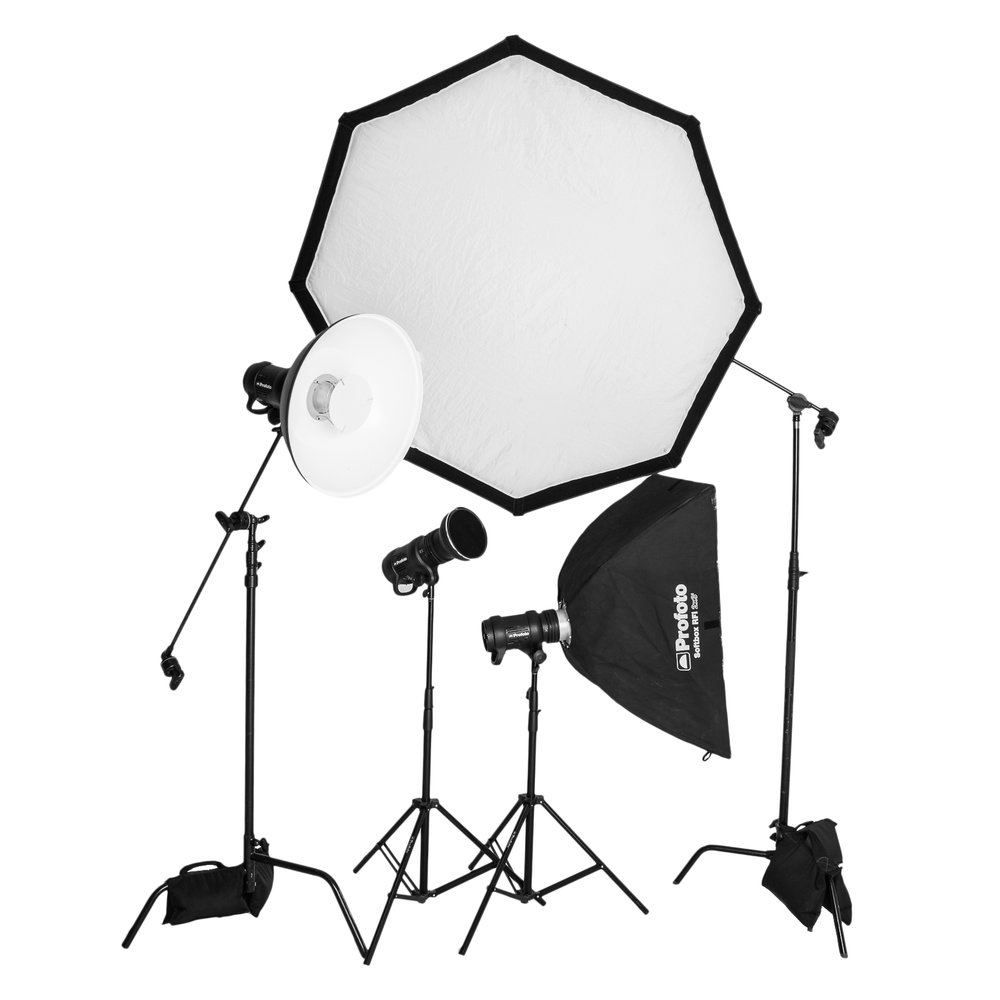 Softboxes, Beauty Dish, Cones and Grids