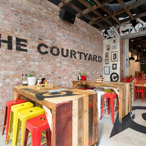 The Courtyard, Flinders St, Townsville