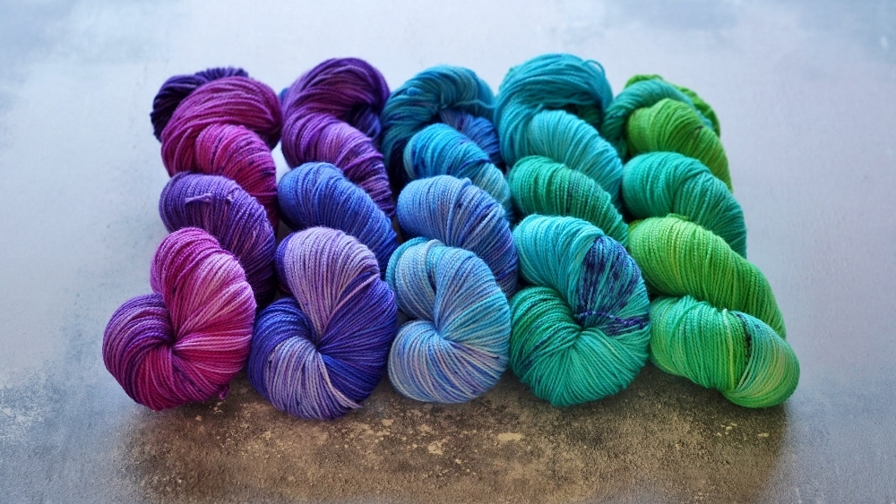 Fade Kits - 5 skein fade kits in Little Bird Sock