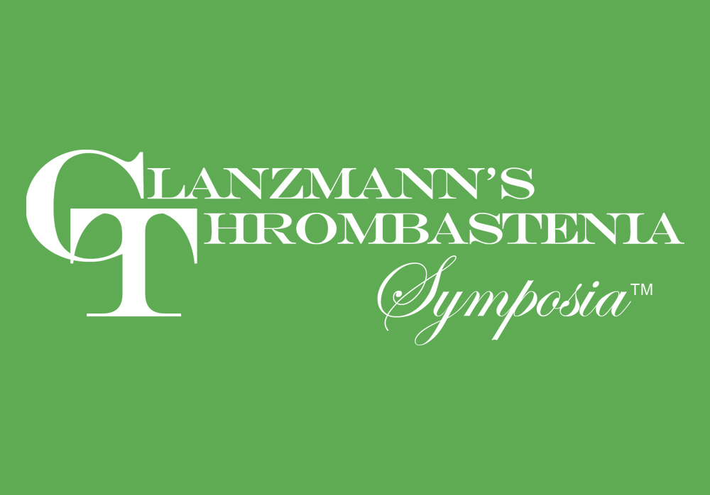 November 2 - 4, 2018    Glanzmann's Thrombastenia Symposia