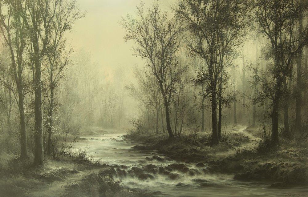 Foggy Forest III