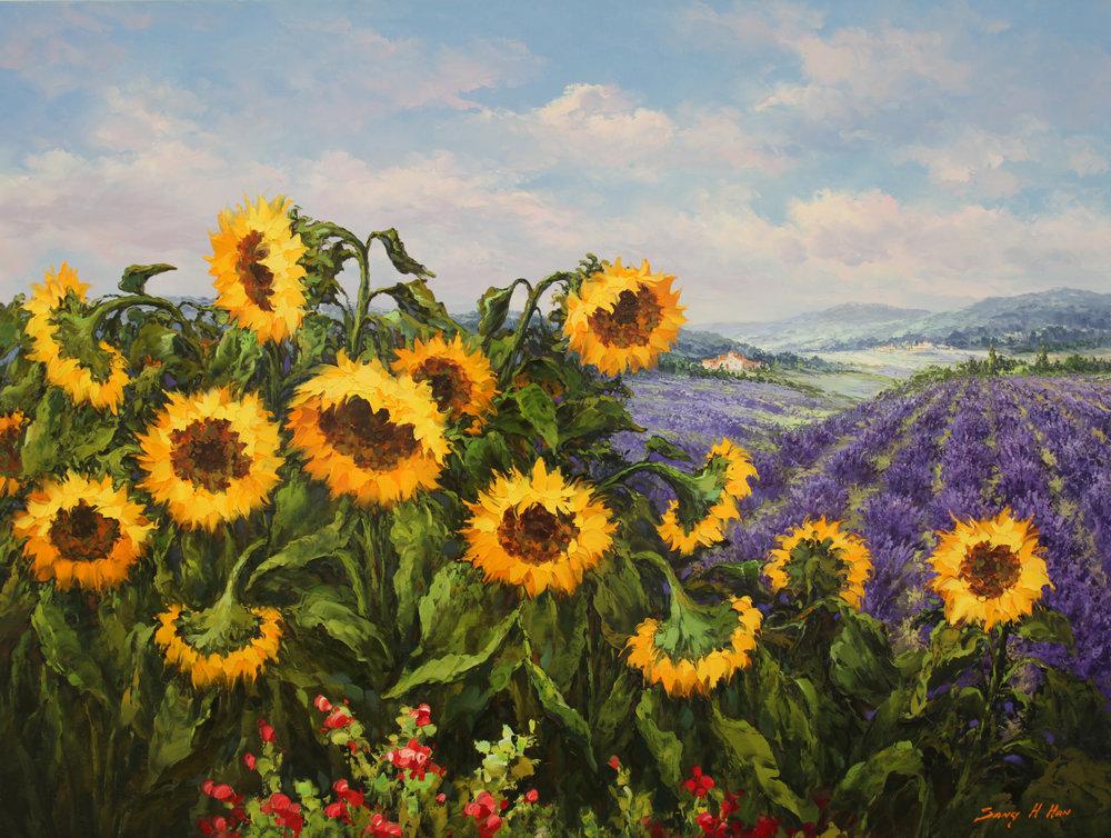 Sunflower and Lavender.jpg