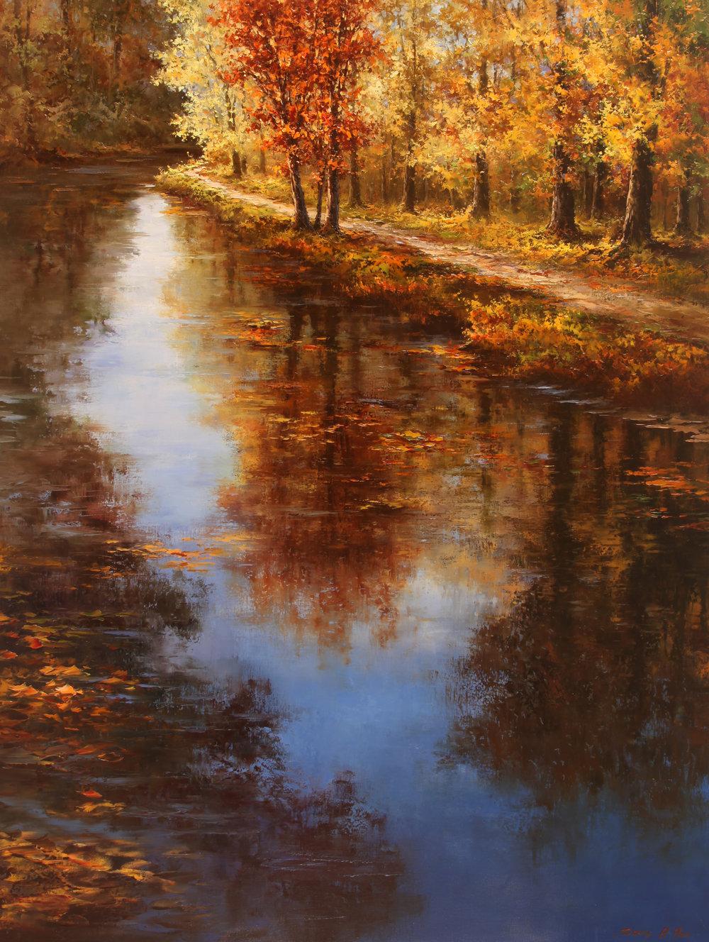 The Crisp Reflection of Fall.JPG