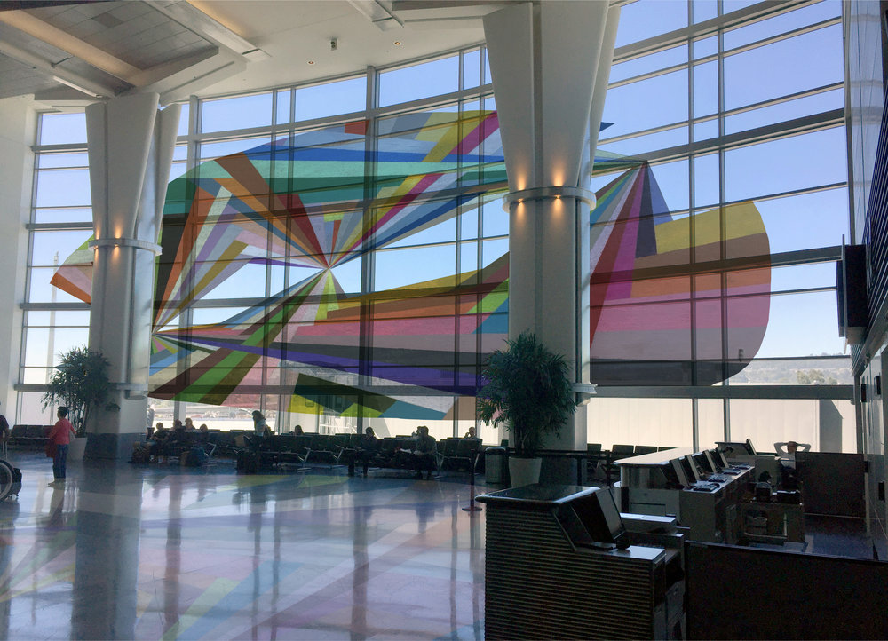 Alicia McCarthy, 2016 Rendering of SFO Terminal A glass-panel  proposal