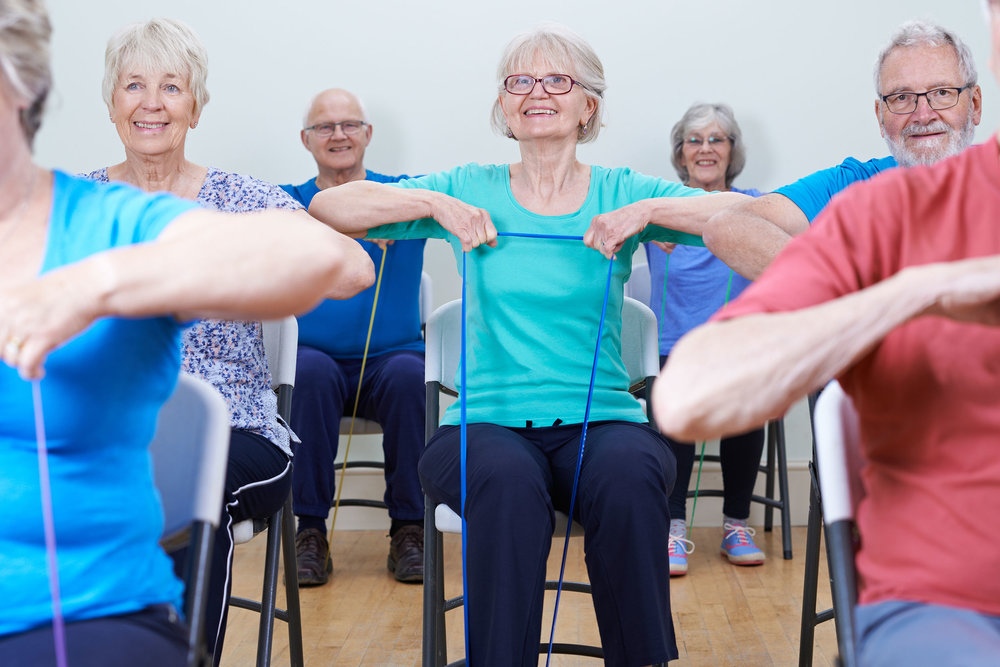 Senior Exercise. We emphasize the importance of social, physical, and emotional activity in your daily living.