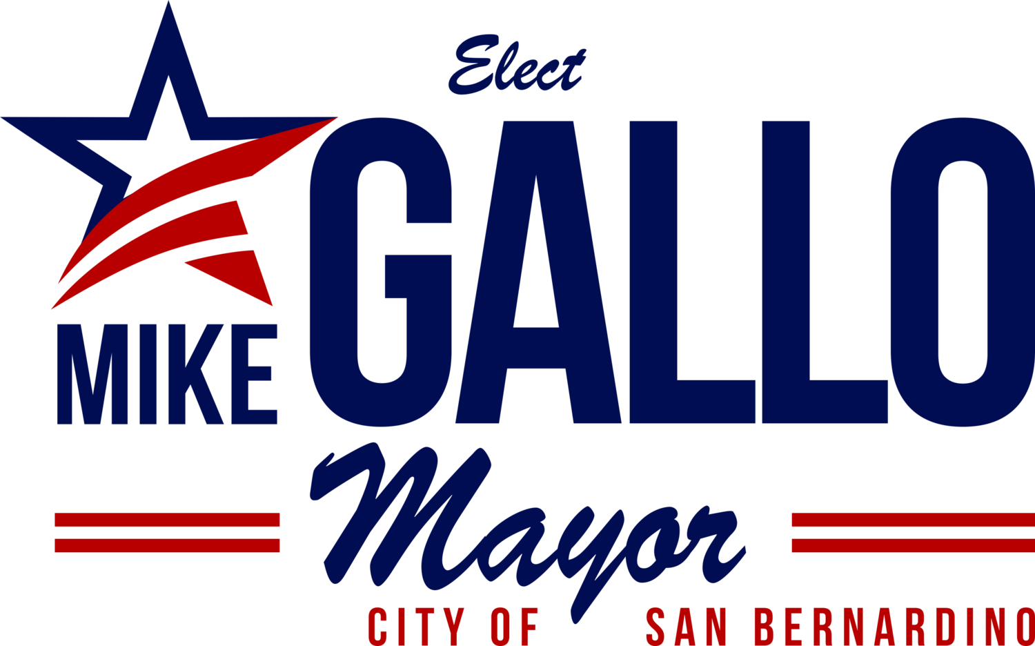 Mike Gallo 4 Mayor