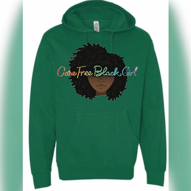 Why still his hoodie when you can get your own . We have sizes xs-3X . Over 20 styles and colors . Shop with us today 💕💕 #carefreeblackgirl #womenempowerment #womensclothing #hoodie #supportsmallbusiness