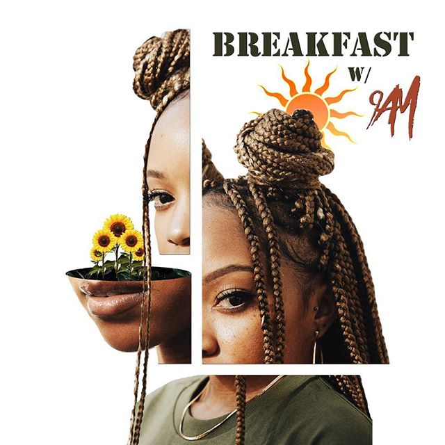 Happy Sunday girls 🍂 after your morning tea have some breakfast with @dj9am - a music based podcasted produced by the folks who brought you #cfbgpod . Link in her bio #breakfastwith9AM #podcast #podsincolor