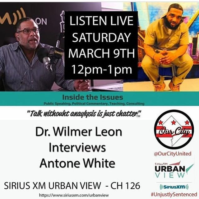 Listen to the live interview in my story now!!! @ourcityunited @unjustlysentenced