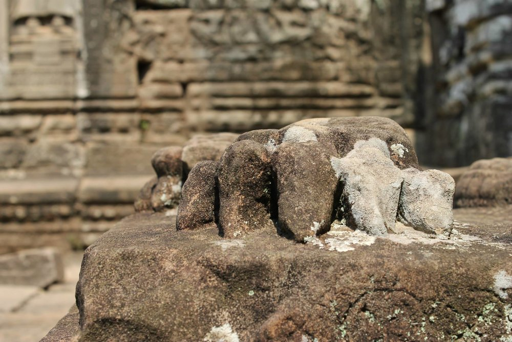 Angkor Wat Temple in Siem Reap, Cambodia. 2014