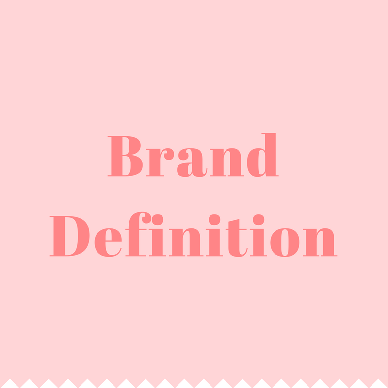 - Brand definition is the best place to start when working on your marketing plans/strategies. It brings you back to basics by helping you think about your vision for your business and what makes you different.