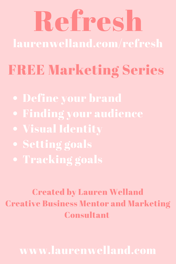 Free marketing strategy course - Lauren Welland