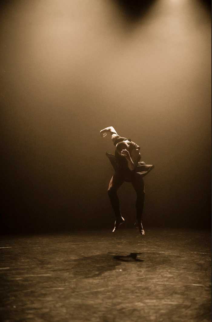 This photo is of a recent Marcat piece set on National Dance Company of Wales. Photo credit to: Rhys Cozens