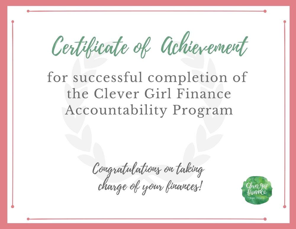 Certificate of achievement - CGF Accountability Program.jpg