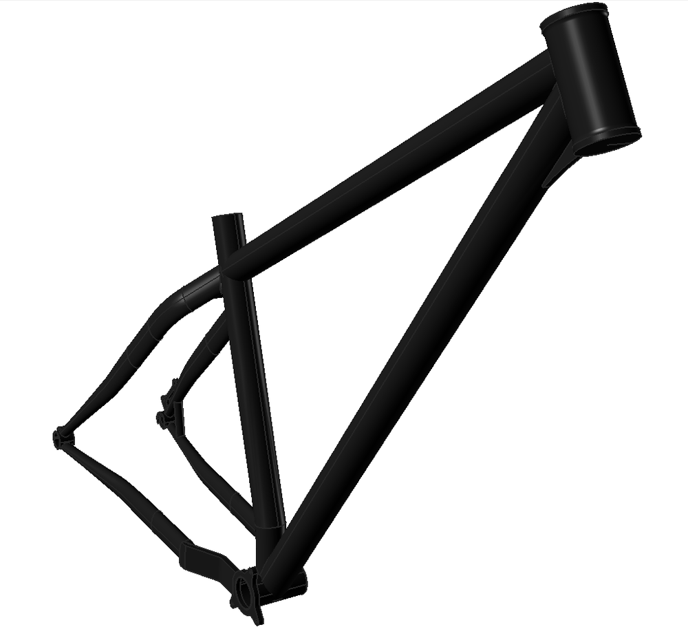 HardTrail 29 - 29er, 140mm travel front, 4130 Chromoly ....Availble Soon