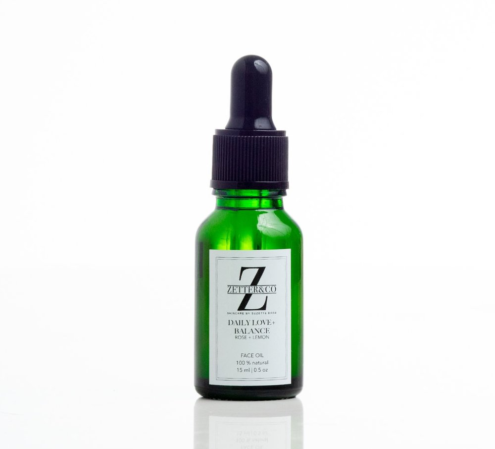 BALANCE + HEAL - $22 DAILY LOVE + BALANCE FACE OIL, non-comedogenic for daily use