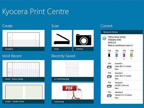 kyocera print center