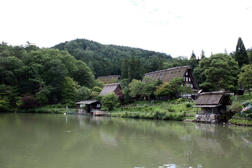The Hida Folk Village in Takayama. (Photo: Chloe Berge)
