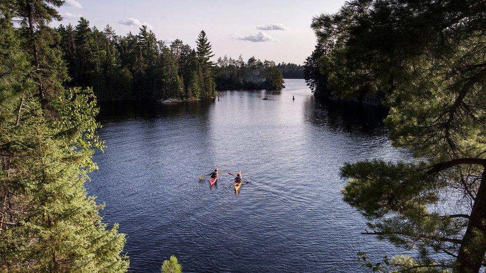 paddling quebec's new national park - Explore Magazine