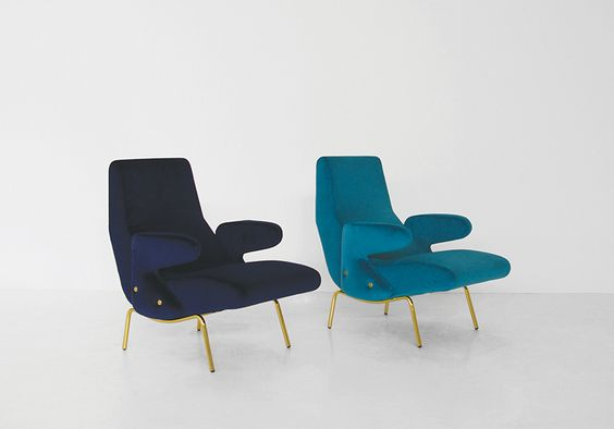 Delfino armchair by Erberto Carboni for Arflex - 1954