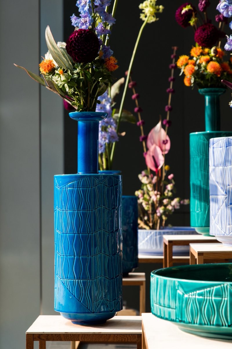 Guadalupe vases collection by Bethan Laura Wood for Bitossi Ceramiche