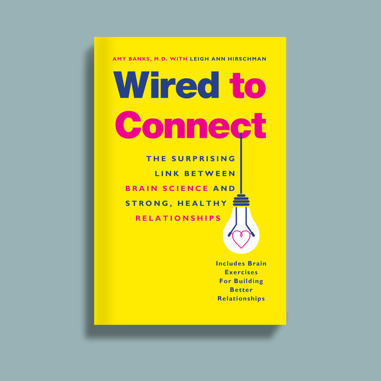 Wired to Connect — Jason Anscomb book cover design