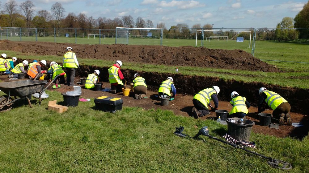 Community Trenches - Involving the local community in your project and management of volunteer digs that support your archaeological objectives.