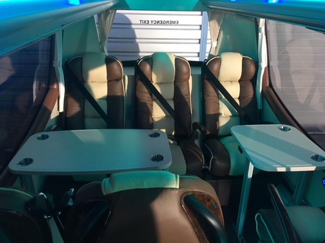 Mercedes Minibus Seating