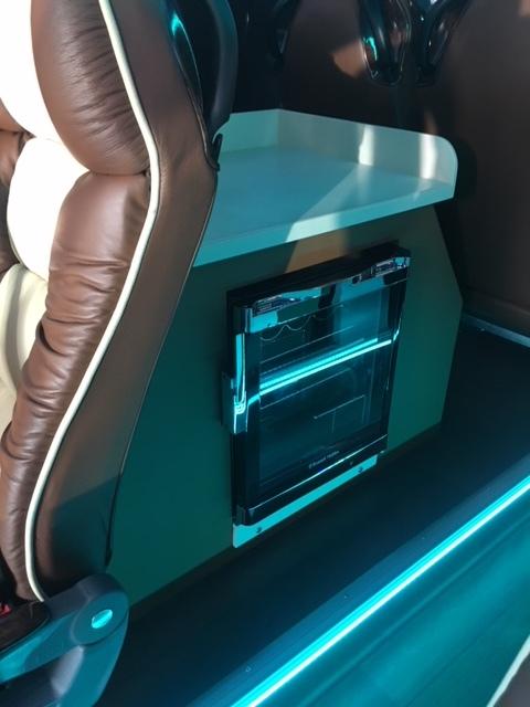 Mercedes Minibus Fridge