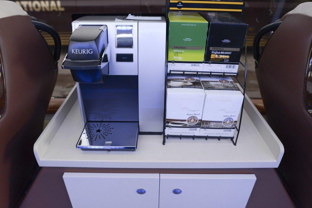 Mini Bus Coffee Machine