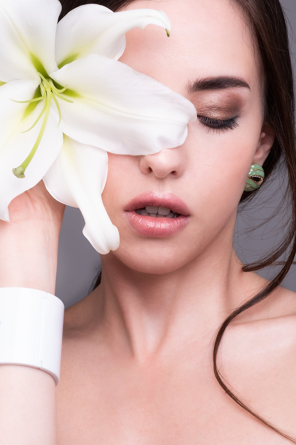 FLOWERS BEAUTY - SHEEBA MAGAZINE  Model: Giusy Reina - MUA/Hair/Concept Eleonora Eilythia