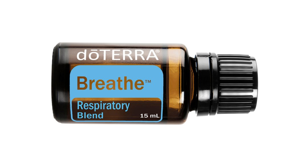 Respiratory Blend - Air or Breathe    The 'On Ramp' to Sleep.  For a more restful sleep during seasonal respiratory discomfort, diffuse Breathe at bedtime or keep in a roll-on bottle by the bedside, in the car or your purse. Roll it on the chest, bottom of feet or upper lip as needed!  Feel Clear and Free.  Put a drop of Breathe and a drop of Wintergreen essential oil in a sink of hot water. Then, place a damp towel over your head and inhale deeply. It's surprising how much this helps!  Working Out in a Building?  Forced heating and cooling, sweaty bodies, dust and your lungs…bad combo. Apply before exercising to invigorate and enhance breathing during your workout.  It's Like a Rain Maker.  Hiking in nature right after an air cleansing rain is an absolute dream. The next time you can't control the rain, try applying Breathe Respiratory Blend. It's the next best thing!  Leavin' on a Jet Plane, Bus or Train?  Confined spaces can sometimes have stagnant air, which can be claustrophobic. While in these spaces, free yourself mentally and emotionally by applying Breathe.  Stuck in a Desk, Small Office or Cube?  It's easy and convenient to just place a drop of Breathe in your palm, rub the palms together and take a deep breath from your cupped hands. Supporting healthy airways will improve your concentration. It may help everyone around you relax too!  A College Dorm Room Fix.  College dorm rooms aren't known for their vast size or light airy appeal. When you combine a 'first-time on their own' roommate with unknown cooking preferences, sweaty workout clothes, or interesting hygiene habits, Breathe is the great equaliser and your best friend.  It's a Zoo in Here!  Staying at someone else's home, with someone else's pets (with their aroma, dander or musty smell) doesn't need to be a problem. Try rubbing Breathe on your chest and under your nose before entering a pet filled house. Great for musty campers vans as well.  Boost Brain Power.  Breathe Respiratory Blend contains Eucalyptus essential oil which is known to help stimulate mental activity and wake up your mind. The powerfully beneficial oils of Peppermint, Lemon, and Melaleuca are all included in Breathe and are perfect if you are feeling under the weather.  One Of Mom's Bag Of Tricks.  Place a couple drops on the pillow of any child who needs Breathe but refuses to apply the oil. The oil helps to distract them from whatever reason she can't sleep, and helps maintain breathing. Oh, and the added benefit is that mom and dad get to rest as well!  Another Tool In Your Habit Breaking Arsenal.  Overcoming nagging habits is tricky to say the least. Occasionally lingering side effects affect breathing. Breathe Respiratory Blend will help you kick bad habits by promoting easier breathing while maintaining lung and throat health.  A Dynamic Duo.  Put a drop of Breathe on the filter of the CPAP machine for even more support during the night. Even without a CPAP machine it's good to keep a roller bottle of Breathe nearby to swipe on the chest and under the nose of whoever is keeping you awake by snoring gone ballistic.  Help For Your Airways When You Have Cold Feet in the Winter.  A popular way to warm your tootsies in the winter is to warm a cloth bag (filled with rice or feed corn kernels) in the microwave and place it at the foot of your bed at night. Add a few drops of Breathe in the bag to make it an aromatically soothing experience as well, opening stuffy airways.  No Gadgetry Required.  Diffusing is great, but when you don't have a diffuser handy, simply add a drop of both Breathe and Frankincense into the palm off your hand. Then, make a fist with a small opening over the oils and breathe in through your fist. This simple technique does wonders!  An Invigorated Senior Citizen's Home.  Let's face it, as we citizens become senior, our energy and passion to make things fresh and invigorating may wane. A senior care centre or rest home does not have to smell like one. By simply diffusing Breathe, you can change the whole feeling of the place—and make it a more pleasant experience for residents as well as visitors.